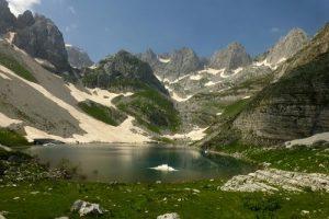 alpi albanesi-lago di jezerce